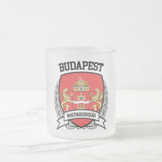 Budapest Frosted Glass Coffee Mug