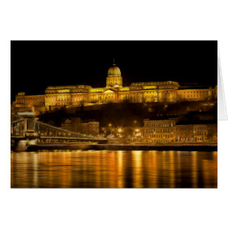 Budapest Golden Night Card