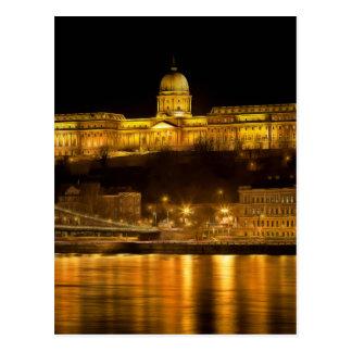 Budapest Golden Night Postcard