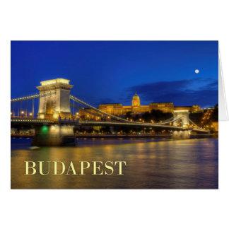 Budapest, Hungary Card