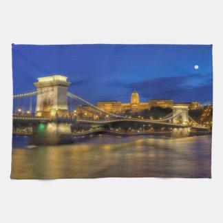 Budapest, Hungary Hand Towels