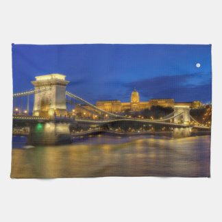 Budapest, Hungary Kitchen Towel