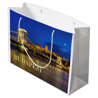 Budapest, Hungary Large Gift Bag