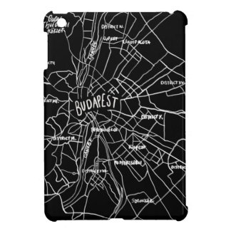 Budapest Hungary map iPad Mini Cover