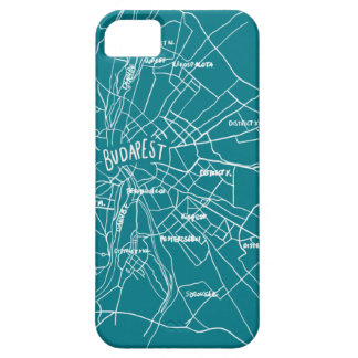 Budapest Hungary map iPhone 5 Covers