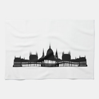 budapest hungary parliament palace architecture towels
