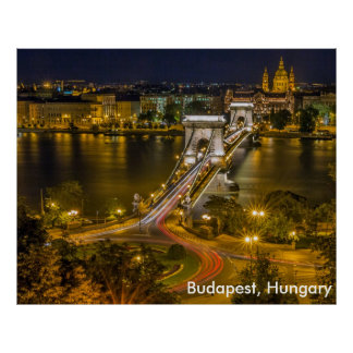 Budapest, Hungary Poster