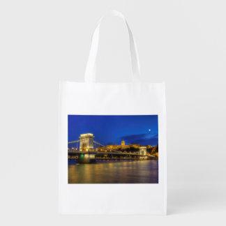 Budapest, Hungary Reusable Grocery Bag