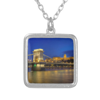 Budapest, Hungary Silver Plated Necklace