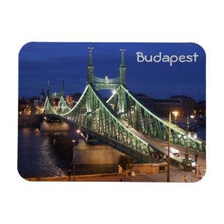 Budapest - Liberty Bridge Magnet