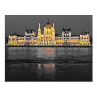 Budapest Lights Postcard
