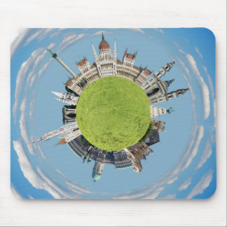 budapest little tiny planet travel tourism hungary mouse pad