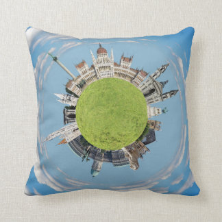 budapest little tiny planet travel tourism hungary throw pillow