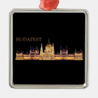 Budapest Metal Ornament
