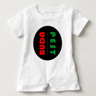 Budapest minimalist - circle - 01 baby romper