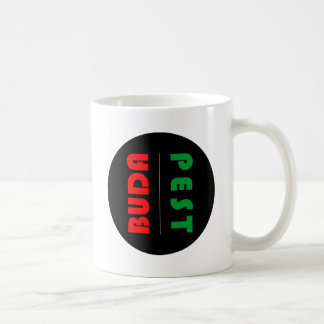 Budapest minimalist - circle - 01 coffee mug