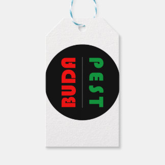 Budapest minimalist - circle - 01 gift tags