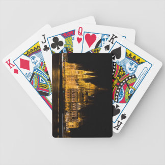 Budapest Parliament At Night Bicycle Playing Cards