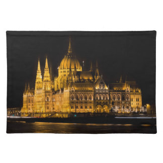 Budapest Parliament At Night Placemat