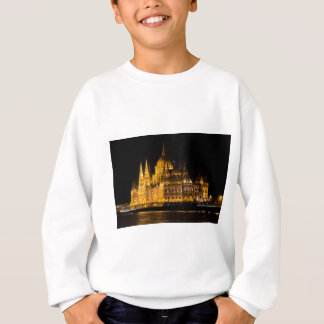 Budapest Parliament At Night Sweatshirt
