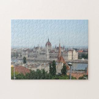 Budapest Parliament Building Jigsaw Puzzle