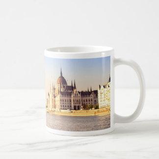 Budapest parliament coffee mug