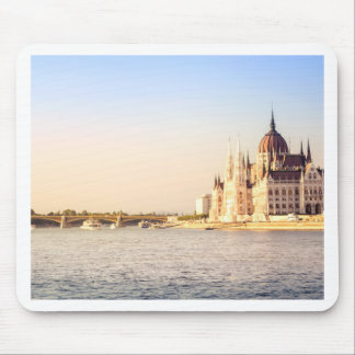 Budapest parliament mouse pad