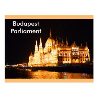 Budapest Parliament Postcard
