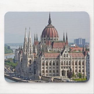 Budapest parliament south side, Hungary Mouse Pad