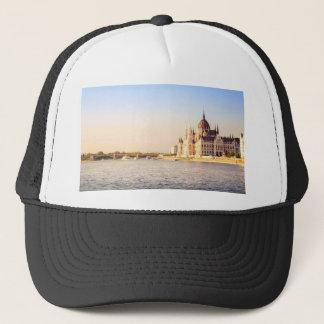 Budapest parliament trucker hat