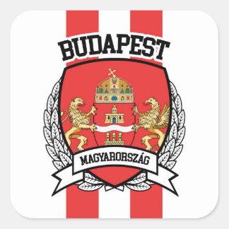 Budapest Square Sticker