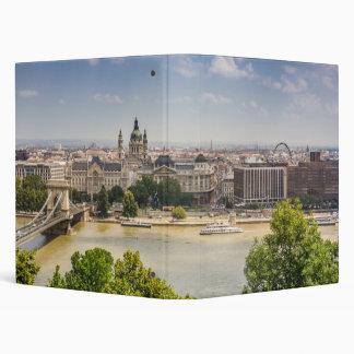Budapest Summer Cityscape, Hungary Travel Photo Binder
