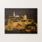 Budapest, The Royal Palace (Buda Castle) at night Jigsaw Puzzle