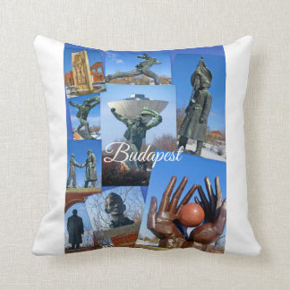 Budapest Travel Collection Throw Pillow
