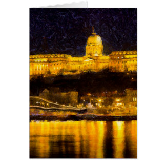 Budapest Van Gogh Card
