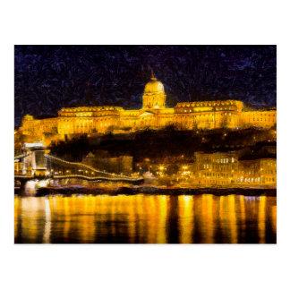 Budapest Van Gogh Postcard