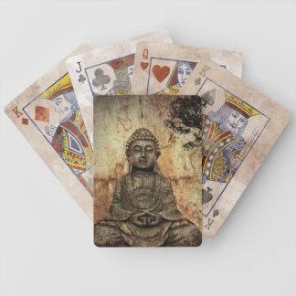 Buddah Bicycle Playing Cards