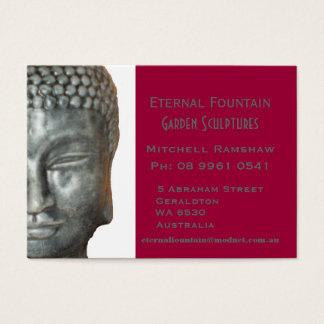 Buddah Head Business Card