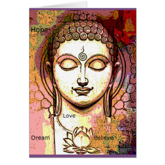 Buddah Inspiration Dream All Occasion card