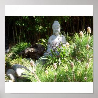 Buddah Meditation Poster