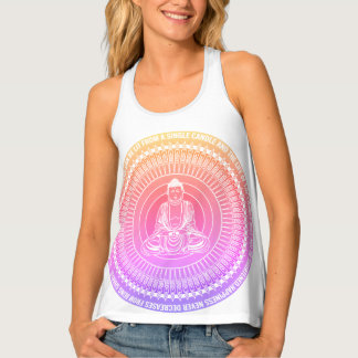 Buddah Quote Tank top
