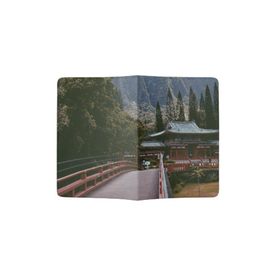 BUDDAH TEMPLE PASSPORT HOLDER