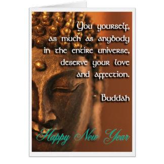 Buddah's Blessing Card