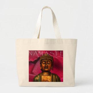 BuddaRose - Customized Large Tote Bag