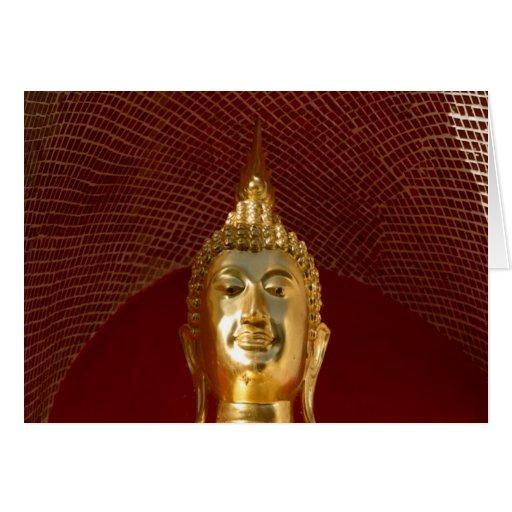 Buddha 6 ~ Thailand Peace Tranquility Serenity Card