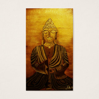 """Buddha"" after Orginalbild of Eva Borowski Business Card"