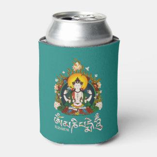 Buddha Amitabha Om Mani Padme Hum Tibetan Can Cooler