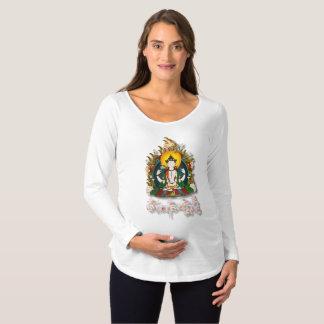 Buddha Amitabha Om Mani Padme Hum Tibetan Maternity T-Shirt