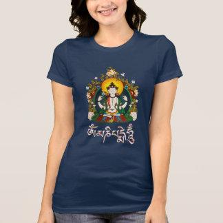 Buddha Amitabha Om Mani Padme Hum Tibetan T-Shirt
