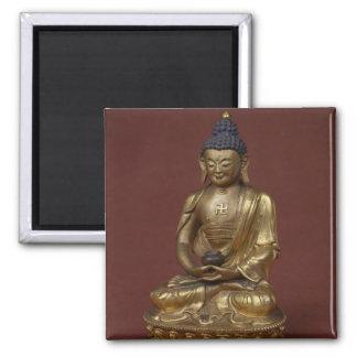 Buddha Amitayus seated in meditation Magnet